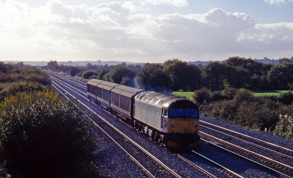 47210, up steel, St Mellons, Cardiff, 27-10-95.