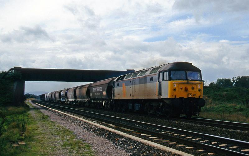 47291, 10.35 Exeter Riverside Yard-Dover, Cogload, 3-10-95,