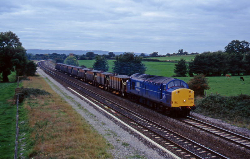 37798, up ballast, Cogload, 18-10-95.