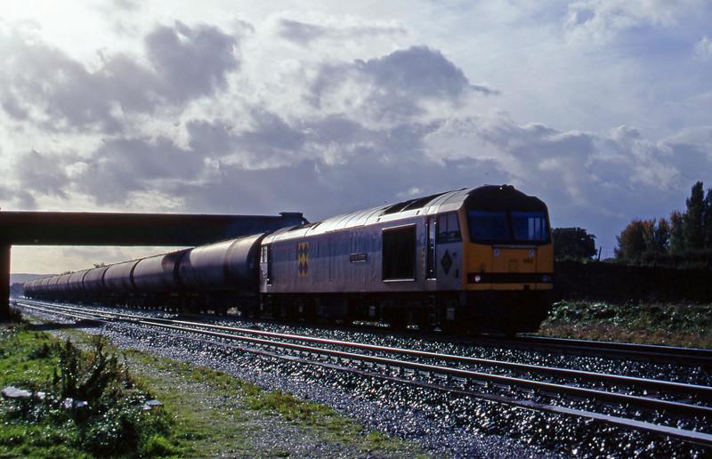60092, 12.05 Heathfield-Waterston, Cogload, 25-10-95.