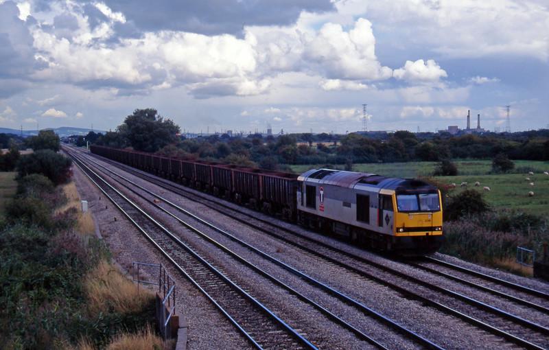 60036, Llanwern-Port Talbot, Coedkernow, near Newport, 12-9-95.