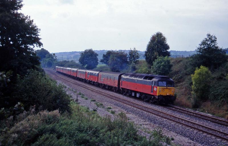 47543, 13.53 Plymouth-Crewe, Whiteball,  20-9-95.