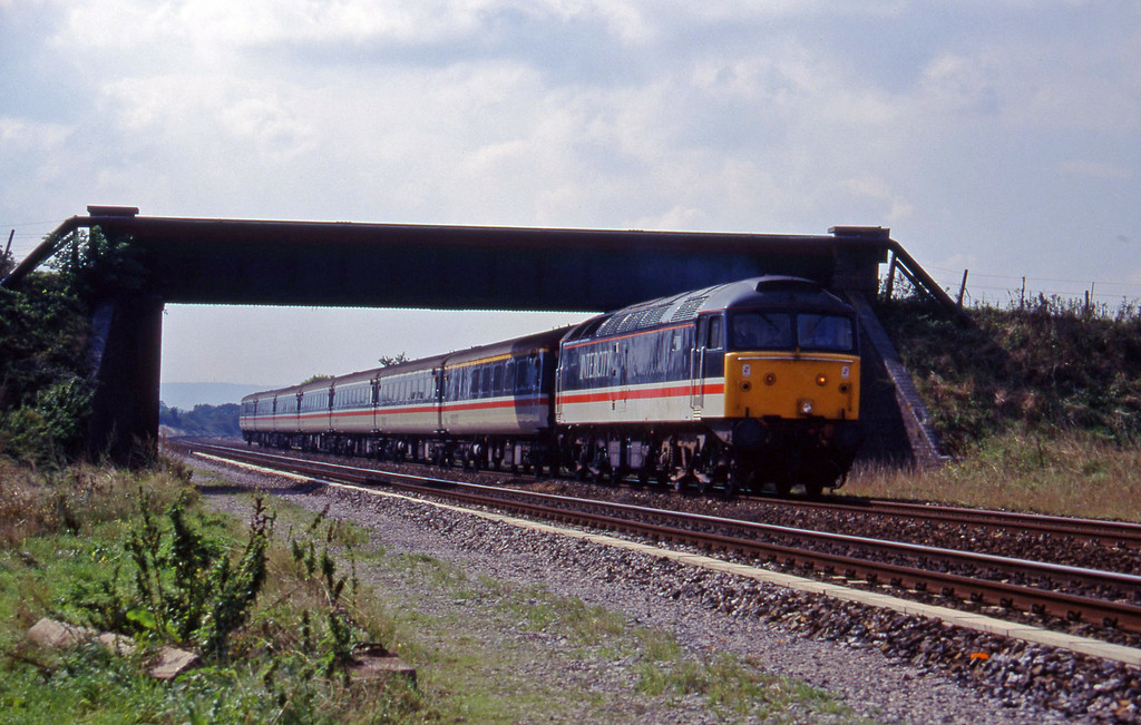 47812, 11.40 Plymouth-Liverpool Lime Street, Cogload, 20-9-95.