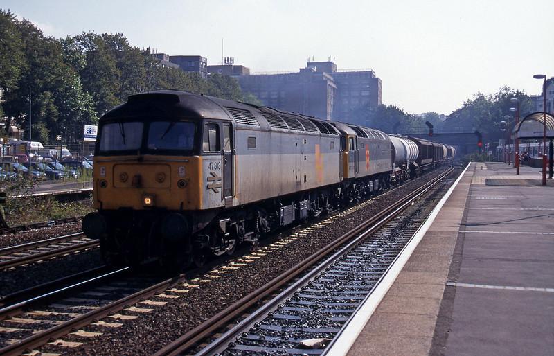47313/47338, Calais-Wembley, Kensington Olympia, 22-9-95.