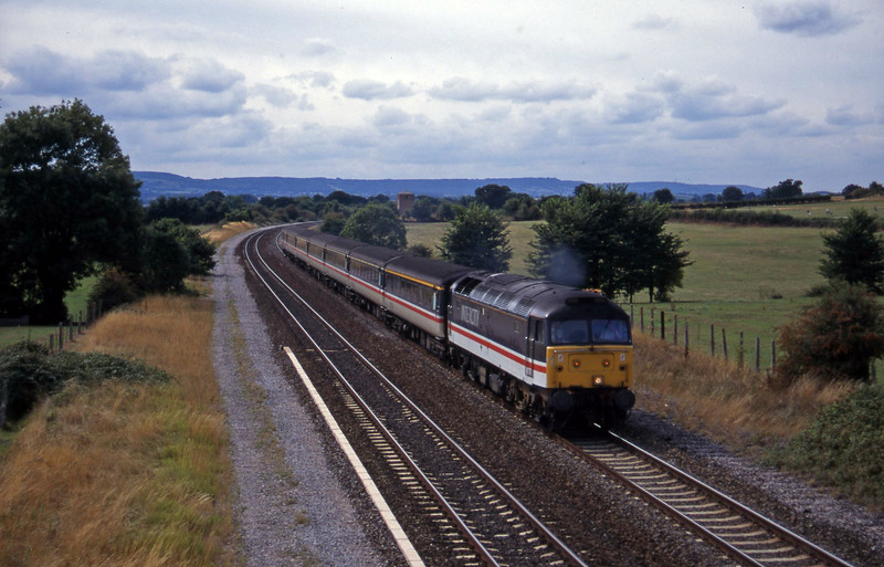 47818, 11.40 Plymouth-Liverpool Lime Street, Cogload, 6-9-95.