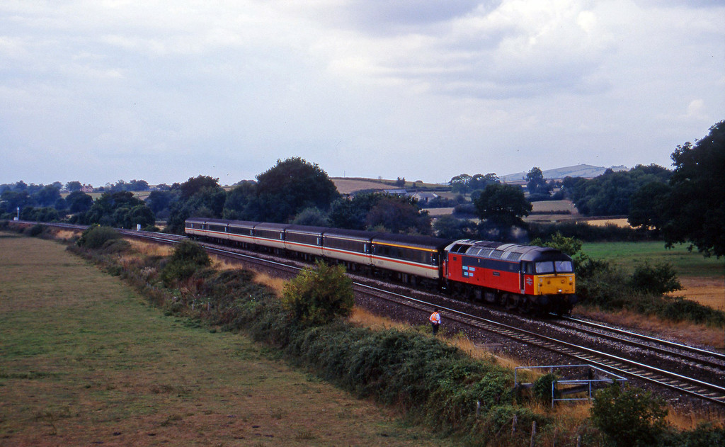 47773, 11.40 Plymouth-Liverpool Lime Street, Silverton, near Exeter, 5-9-95.
