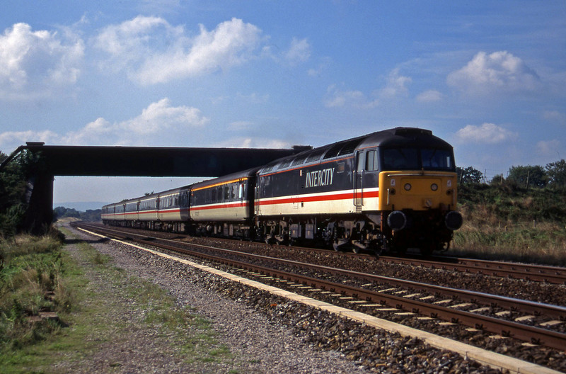 47847, 10.44 Plymouth-Manchester Piccadilly, Cogload, 20-9-95.