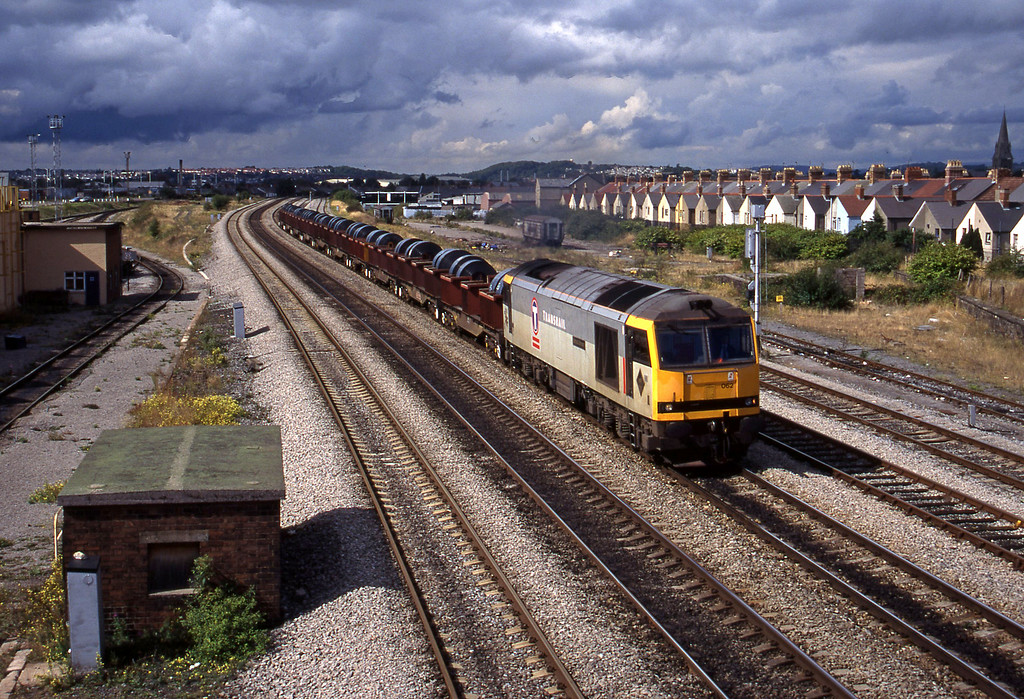 60062, up steel, Cardiff Canton, 12-9-95.