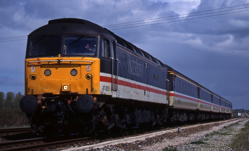 47825, 09.10 Liverpool Lime Street-Plymouth, Cogload, 24-4-96.