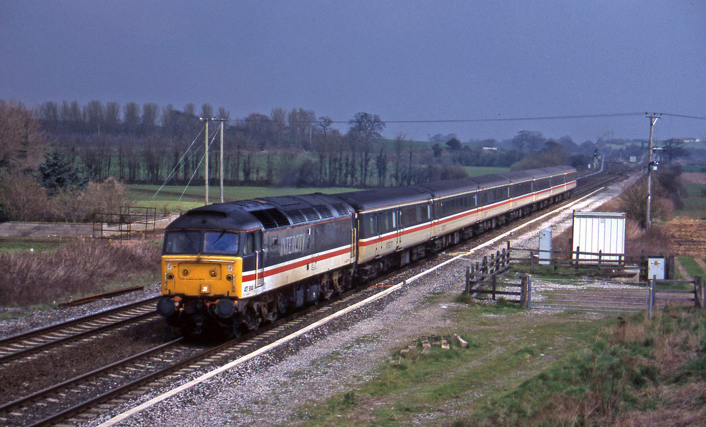 47814, 09.10 Liverpool Lime Street-Plymouth, Cogload, 10-4-96.
