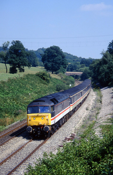 47847, 09.10 Liverpool Lime Street-Plymouth, Whiteball, 17-8-96.