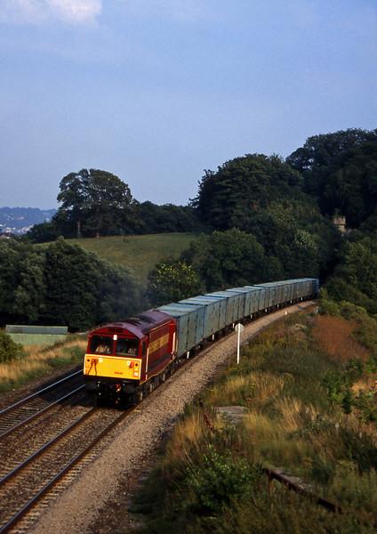 58048, Bath RTS-Westerleigh RTS, Twerton, Bath, 20-8-96.