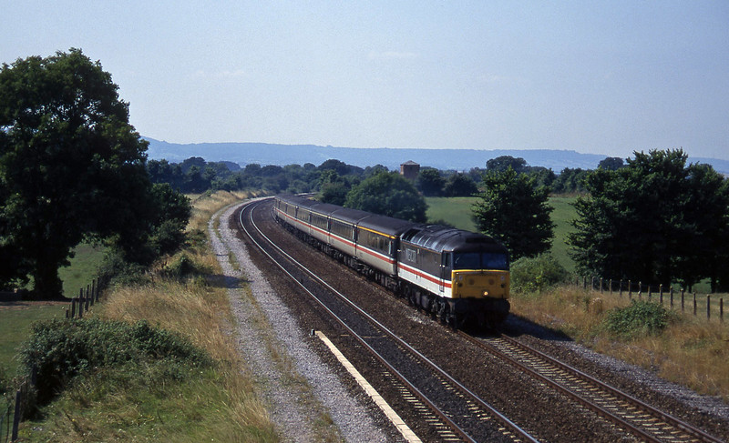 47818, 12.44 Plymouth-Manchester Piccadilly, Cogload, 13-8-96.