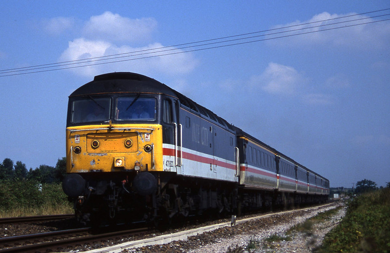 47822, 09.10 Liverpool Lime Street-Plymouth, Cogload, 13-8-96.