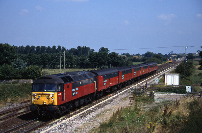 47779, 12.15 Bristol Temple Meads-Plymouth, Cogload, 13-8-96.
