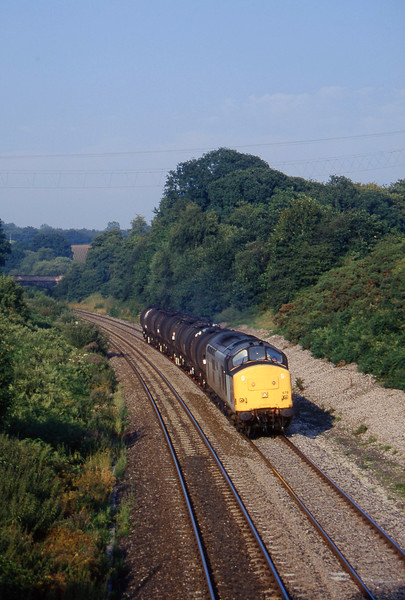 37678, 13.34 Fawley-Plymouth Tavistock Junction Yard, Whiteball, 16-8-96.