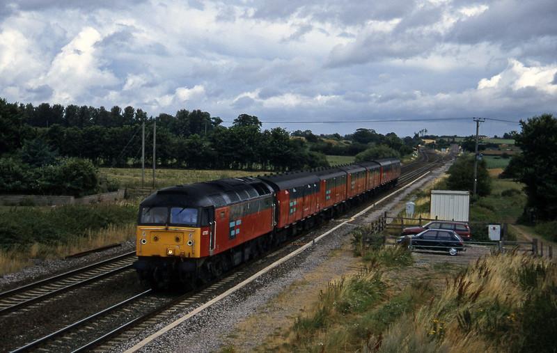 47761, 12.15 Bristol-Plymouth, Cogload, 6-8-96.