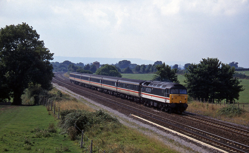 47848, 11.50 Plymouth-Liverpool Lime Street, Cogload, 28-8-96.