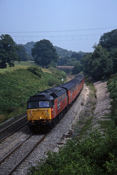 47778, 12.15 Bristol Temple Meads-Plymouth, Whiteball, 15-8-96.