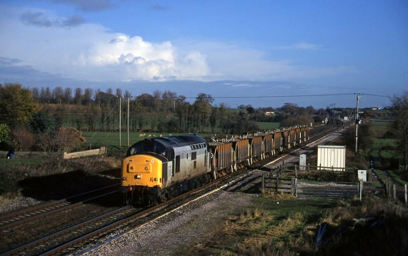 37667, down ballast, Cogload, 4-12-96.