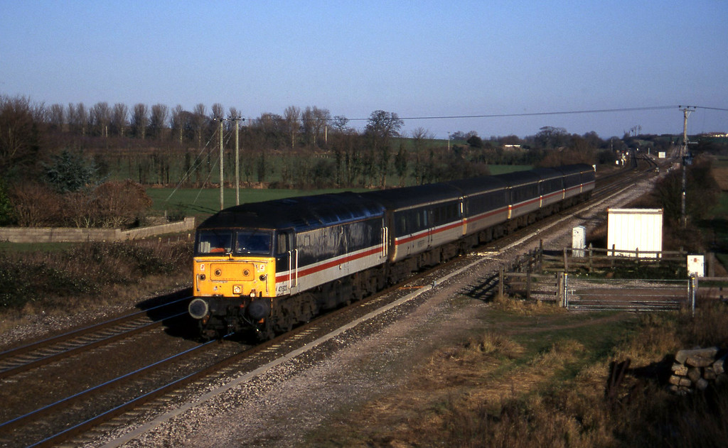 47822, 09.10 Liverpool Lime Street-Plymouth, Cogload, 24-12-96.