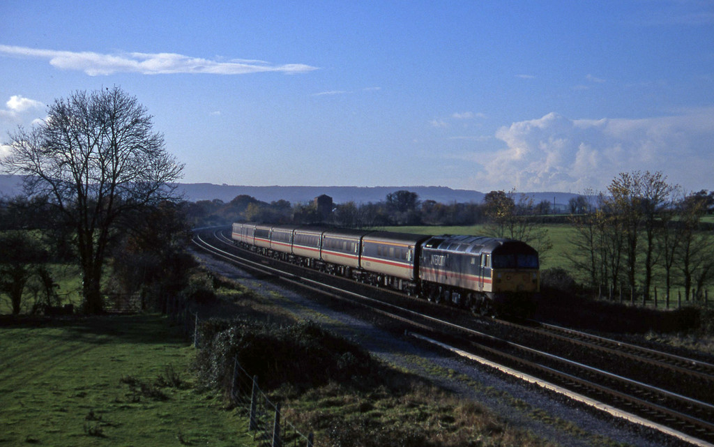 47828, 10.44 Plymouth-Manchester Piccadilly, Cogload, 4-12-96.