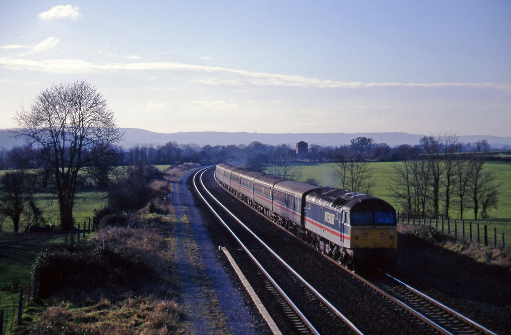 47839, 11.40 Plymouth-Liverpool Lime Street, Cogload, 24-12-96.