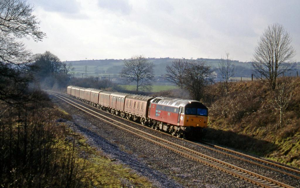 47741, 13.53 Plymouth-Crewe, Whiteball, 21-2-96.