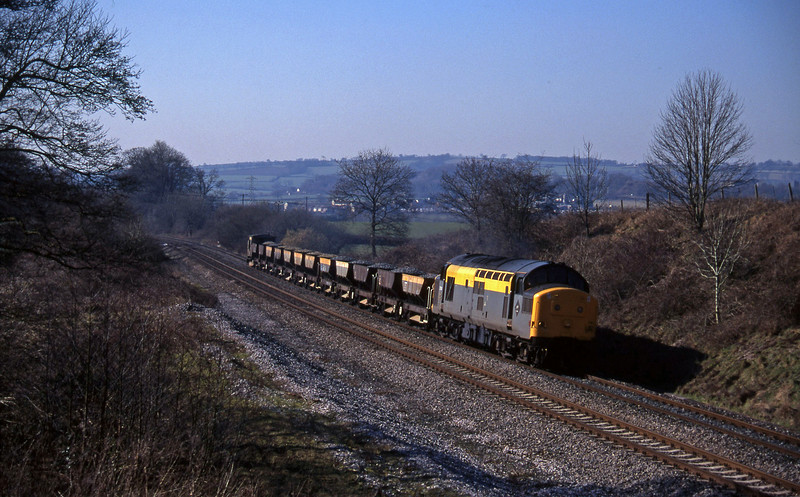 37141, up ballast, Whiteball, 28-2-96.