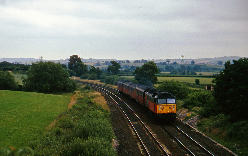 47762, 13.53 Plymouth-Bristol Temple Meads, Willand, near Tiverton, 9-7-96.