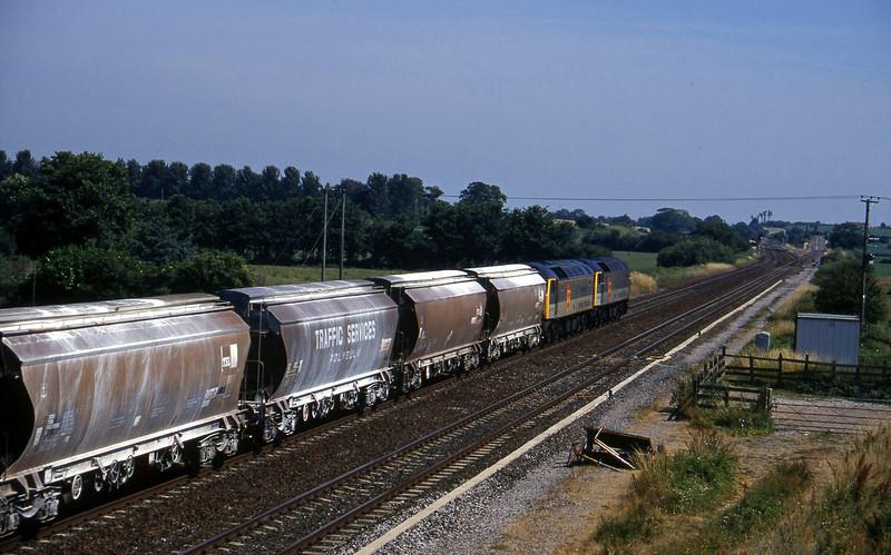 47338/47375, 10.35 Exeter Riverside Yard-Dollands Moor, Cogload, 22-7-96.