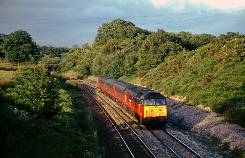 47/7, 16.02 London Paddington-Plymouth, Whiteball, 12-7-96.