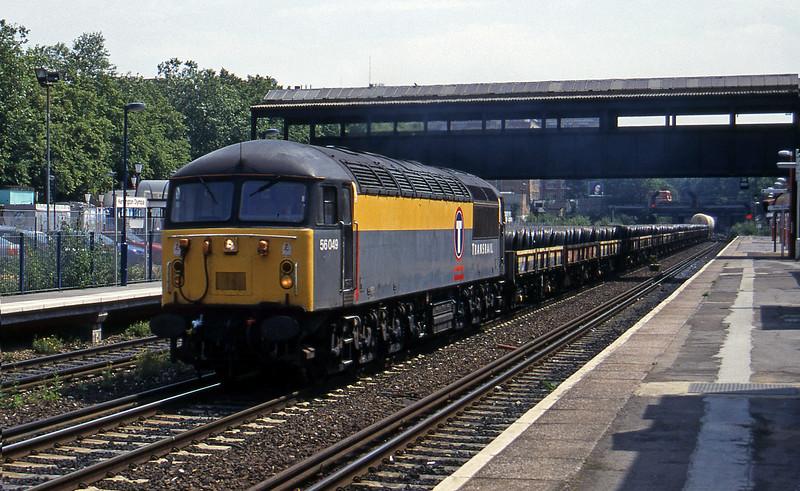 56049, Sheerness-London Willesden, Kensington Olympia, 19-7-96.