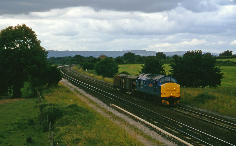 37248, up ballast, Cogload, 2-7-96.