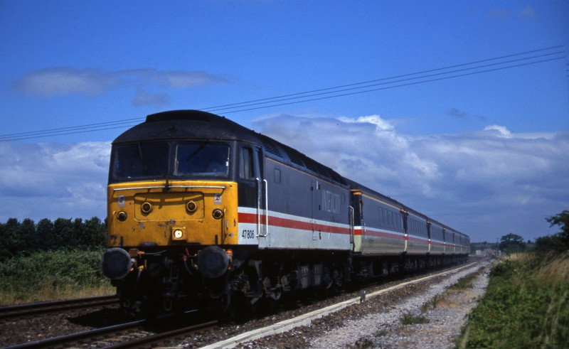 47806, 09.10 Liverpool Lime Street-Plymouth, Cogload, 24-7-96.