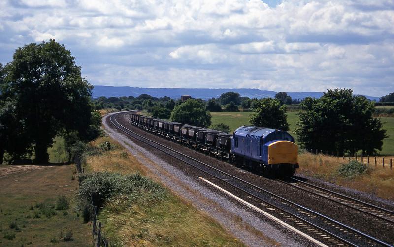 37375, up ballast, Cogload, 24-7-96.