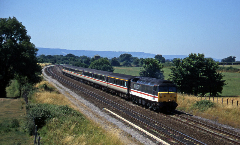 47844, 10.44 Plymouth-Manchester Piccadilly, Cogload, 22-7-96.