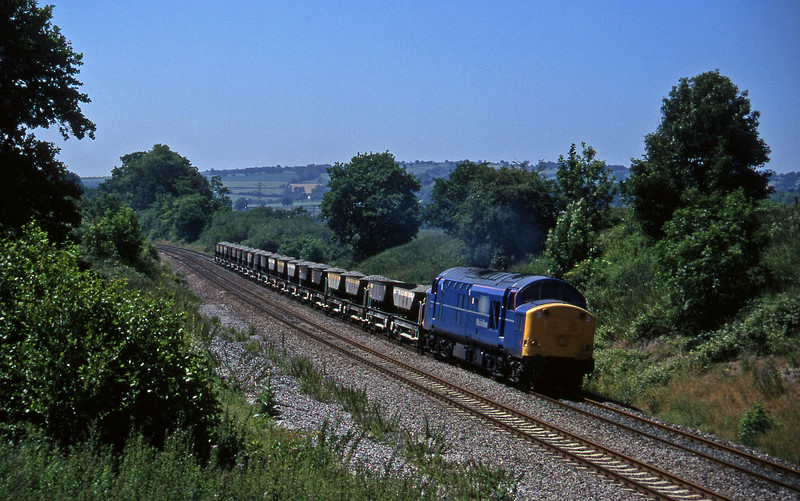 37047, up ballast, Whiteball, 17-7-96.