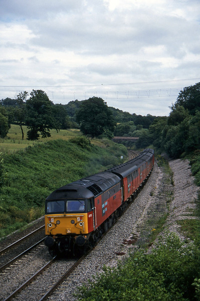 47781, 12.15 Bristol Temple Meads-Plymouth, Whiteball, 30-7-96.