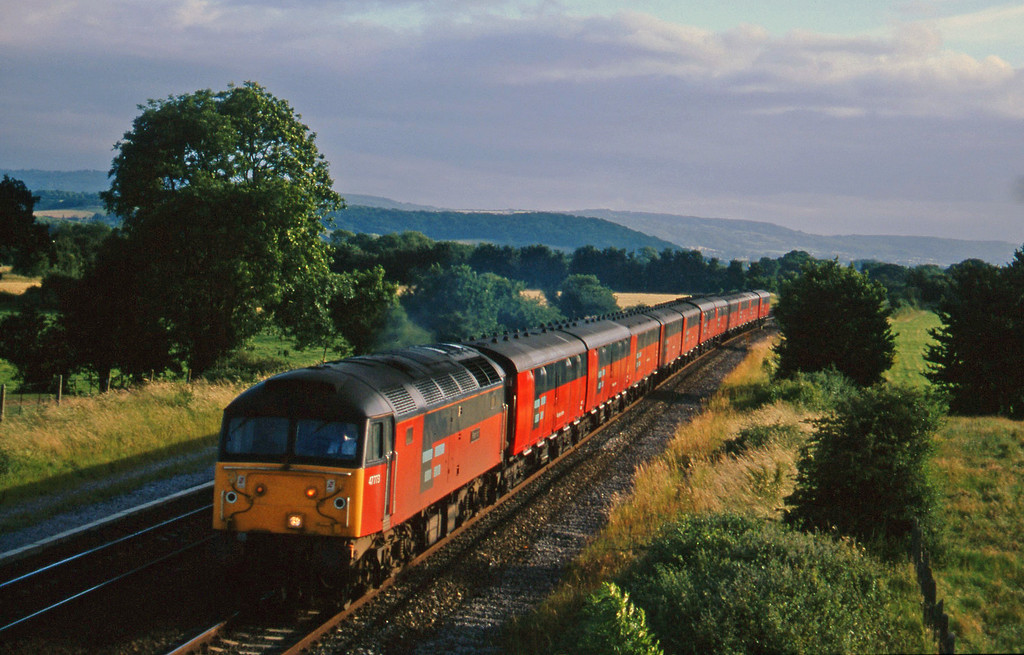 47773, 17.10 Plymouth-Low Fell, Cogload, 3-7-96.