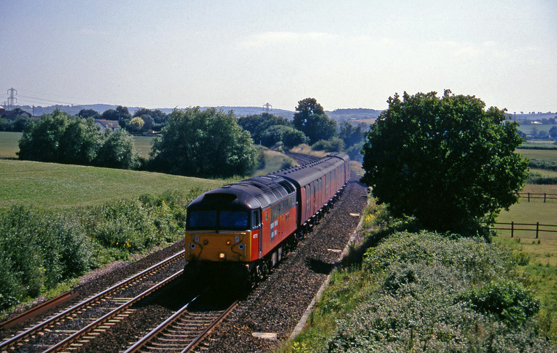 47773, 13.53 Plymouth-Bristol Temple Meads, Willand, near Tiverton, 16-7-96.