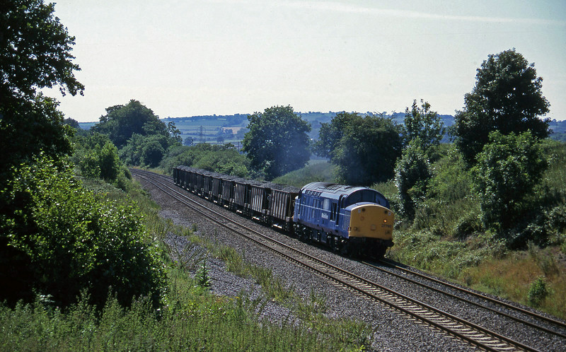 37798, up ballast, Whiteball, 18-7-96.