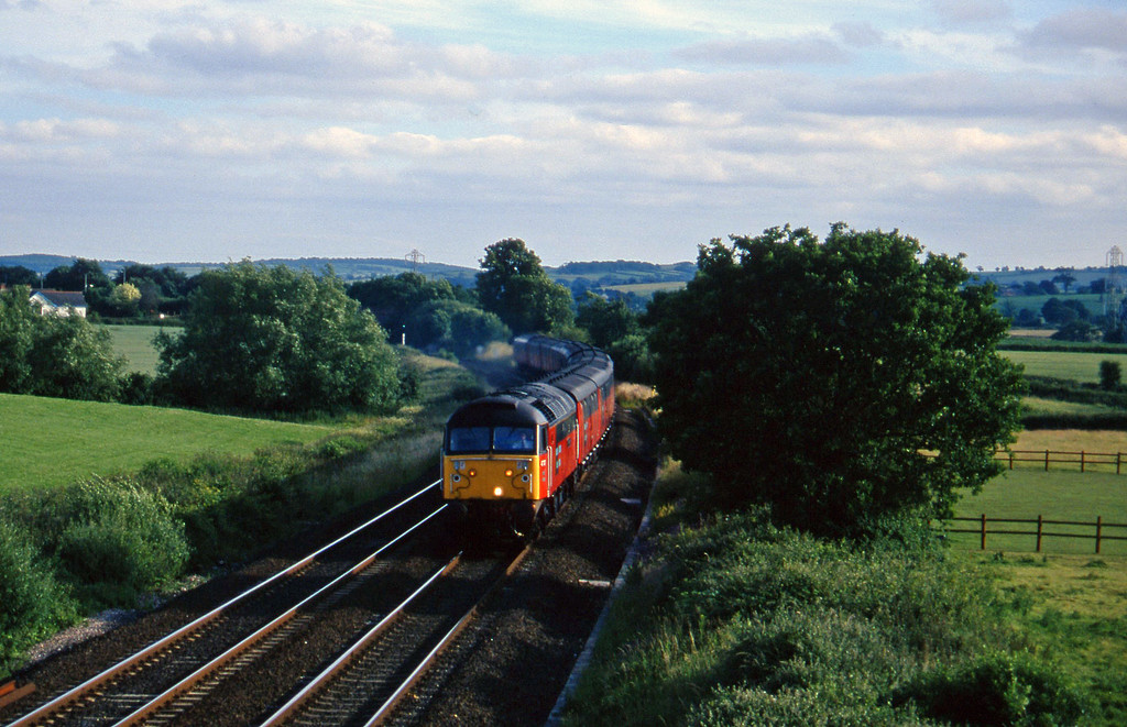 47787, 17.10 Plymouth-Low Fell, Willand, near Tiverton, 8-7-96.