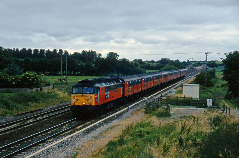 47725, 12.15 Bristol Temple Meads-Plymouth, Cogload, 9-7-96.