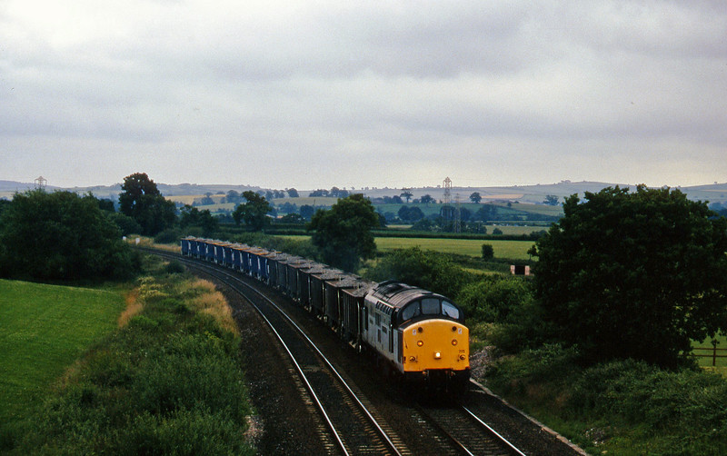 37715, up ballast, Willand, near Tiverton, 9-7-96.