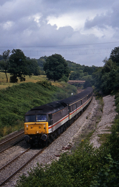47849, 09.17 Manchester Piccadilly-Paignton, Whiteball, 27-7-96.