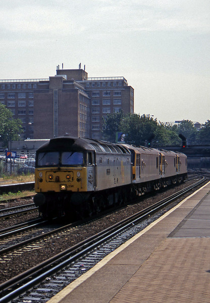 47314/92038/92015/92021, northbound, Kensington Olympia, 19-7-96.