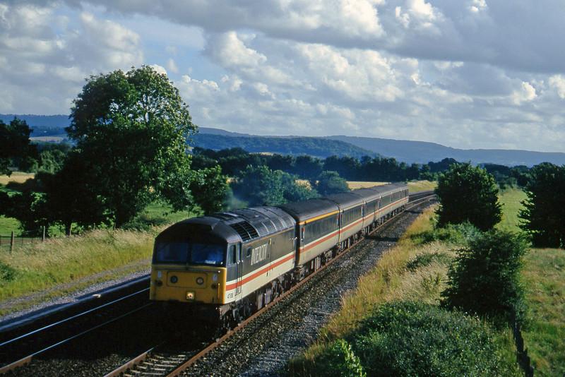 47818, 16.50 Plymouth-Sheffield, Cogload, 4-7-96.