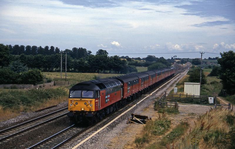 47766, 12.15 Bristol-Plymouth, Cogload, 26-7-96.