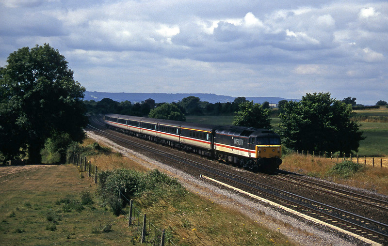 47847, 10.44 Plymouth-Manchester Piccadilly, Cogload, 24-7-96.